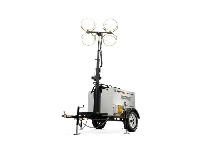 2019, Generac, MLT4200IF4V Vertical Mast, Light Towers