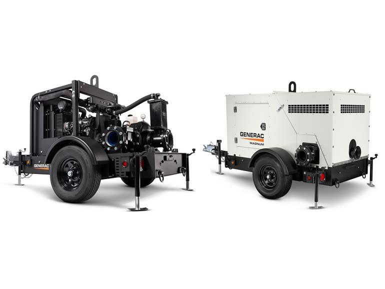 2019, Generac, MTP6DZD 6-inch Diaphragm Dry Prime Trash Pump, Pumps