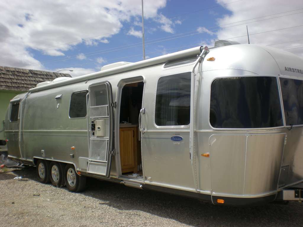 Used 2008 Airstream 34 Classic Limited Slide Out In Tucson Az