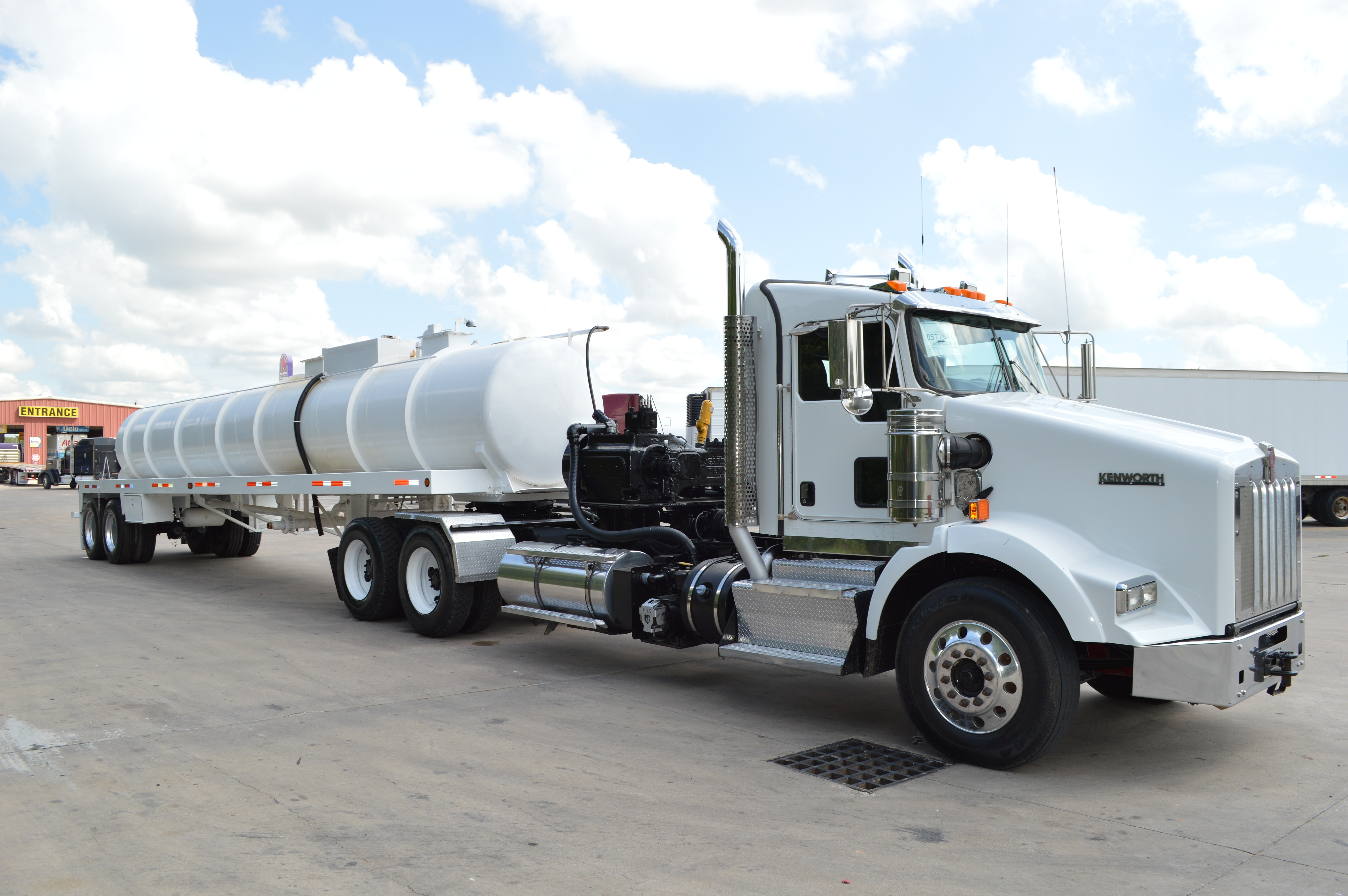 Troxell Auto Sales >> Used 2007 Troxell 130bbl Kill Trailer Lined Coated In