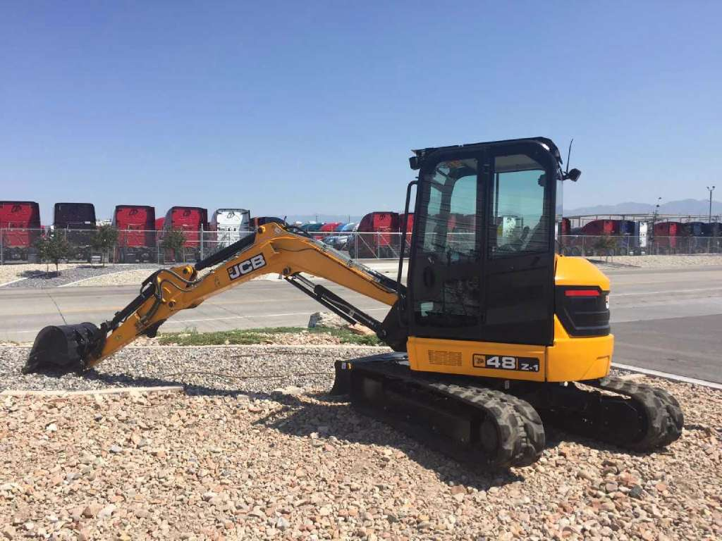 New, 2017, JCB, 48Z-1, Excavators