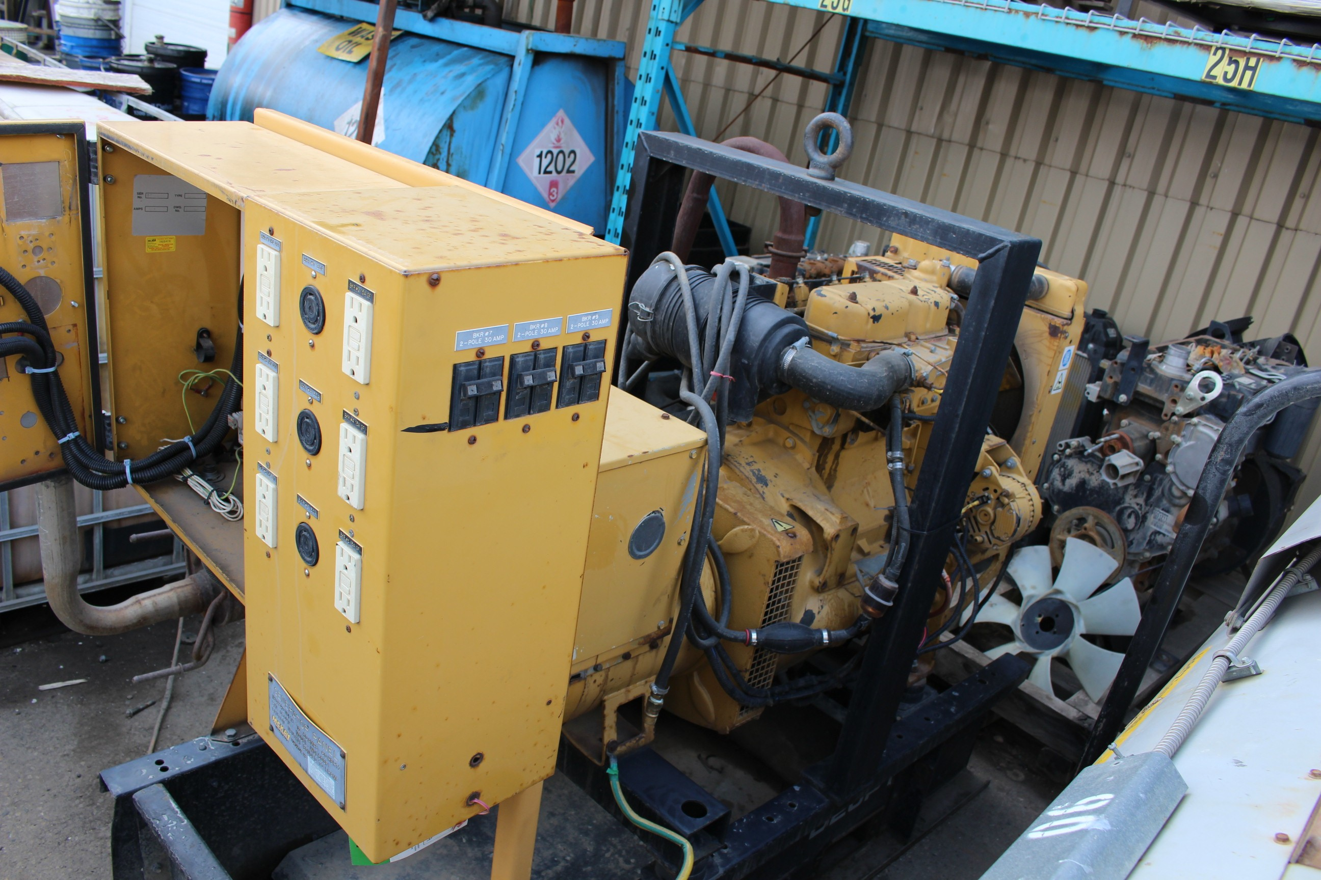Used, Other, Olympian D20P1 20 kw , Generators