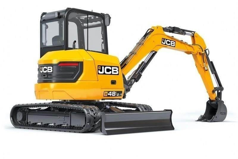 New, 2019, JCB, 48Z-1 Compact Excavator, Excavators