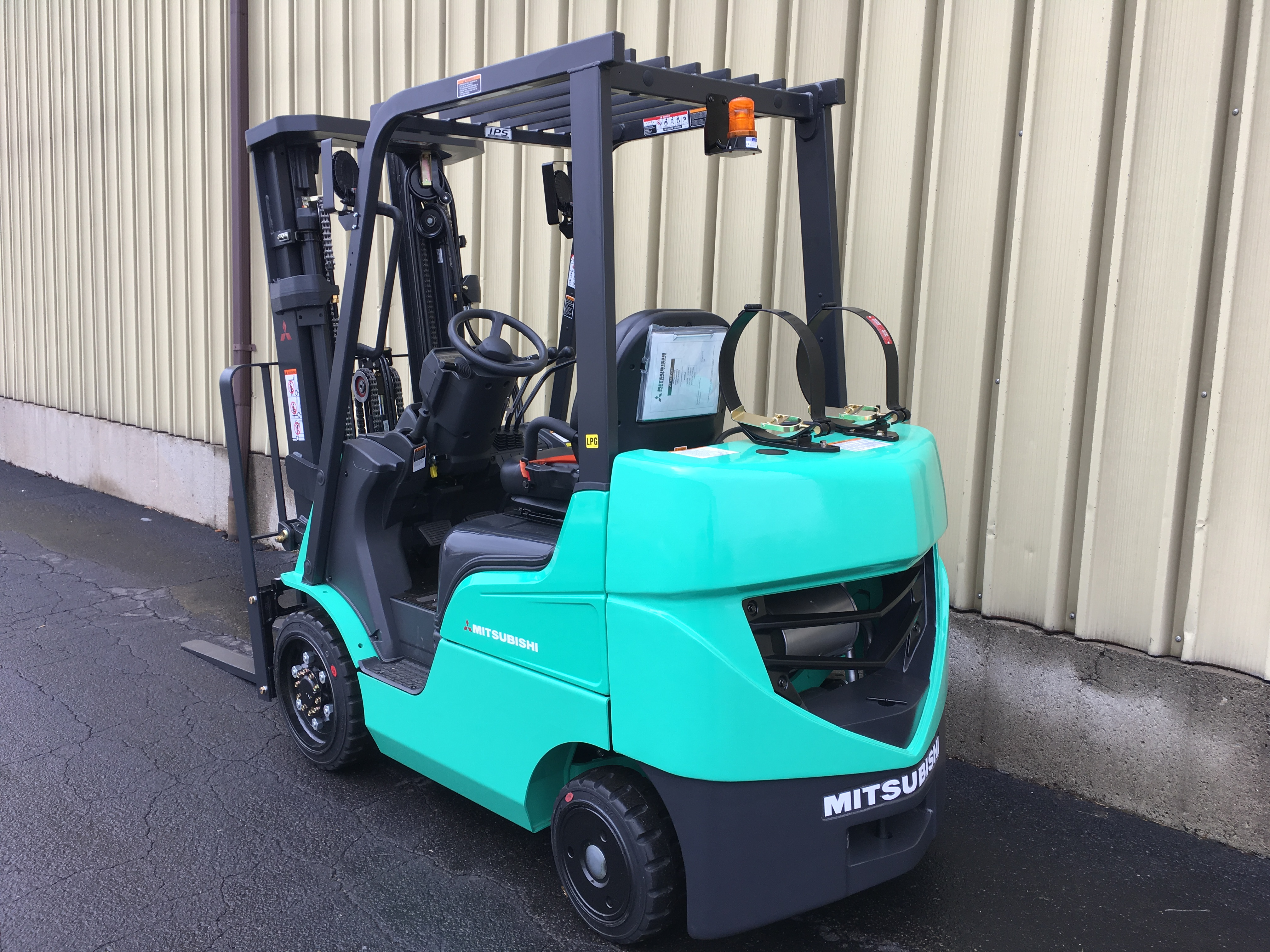 mitsubishi lbs forklift tire products capacity forklifts pneumatic
