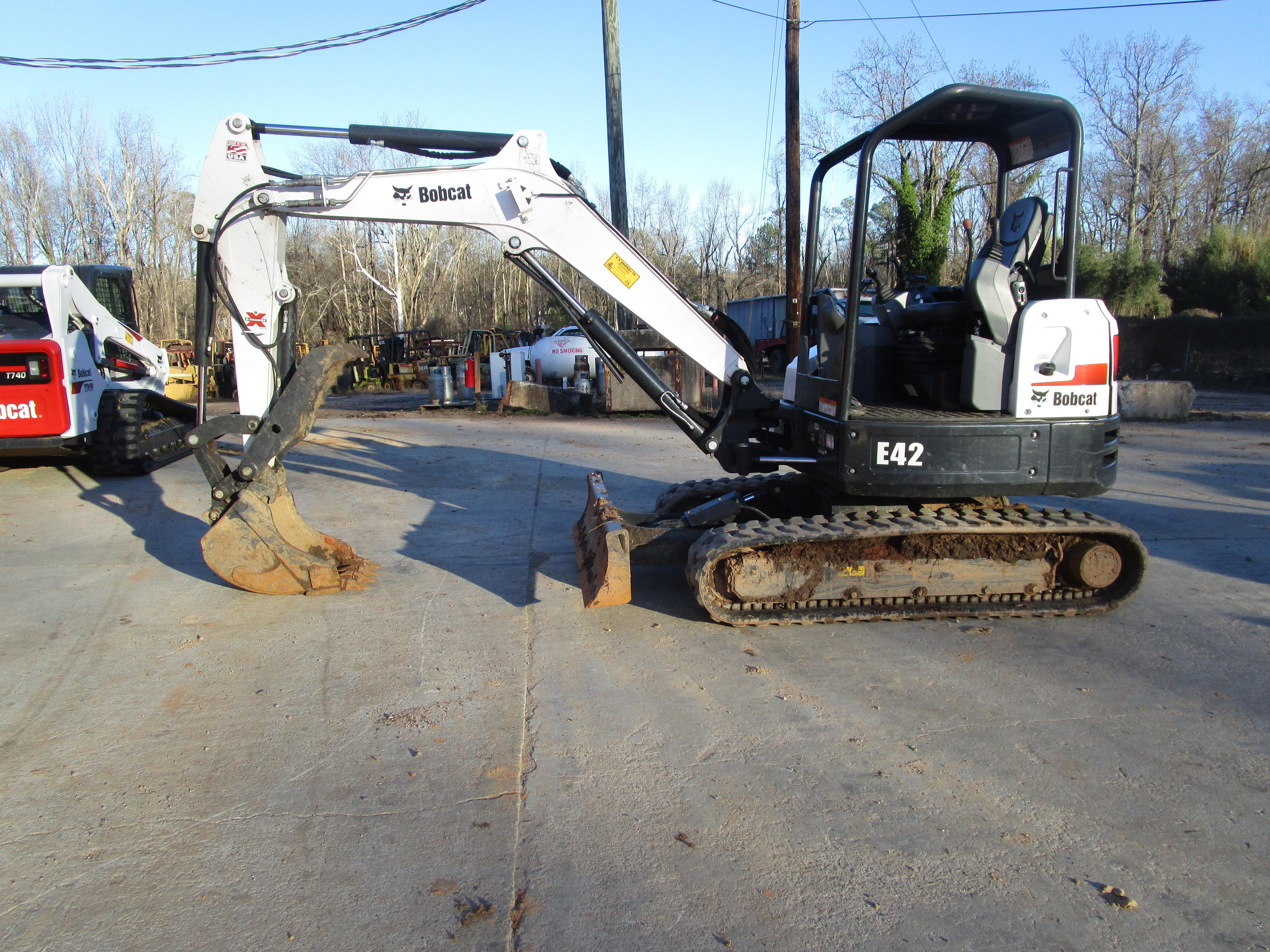 Used, 2018, Bobcat, E42, Excavators
