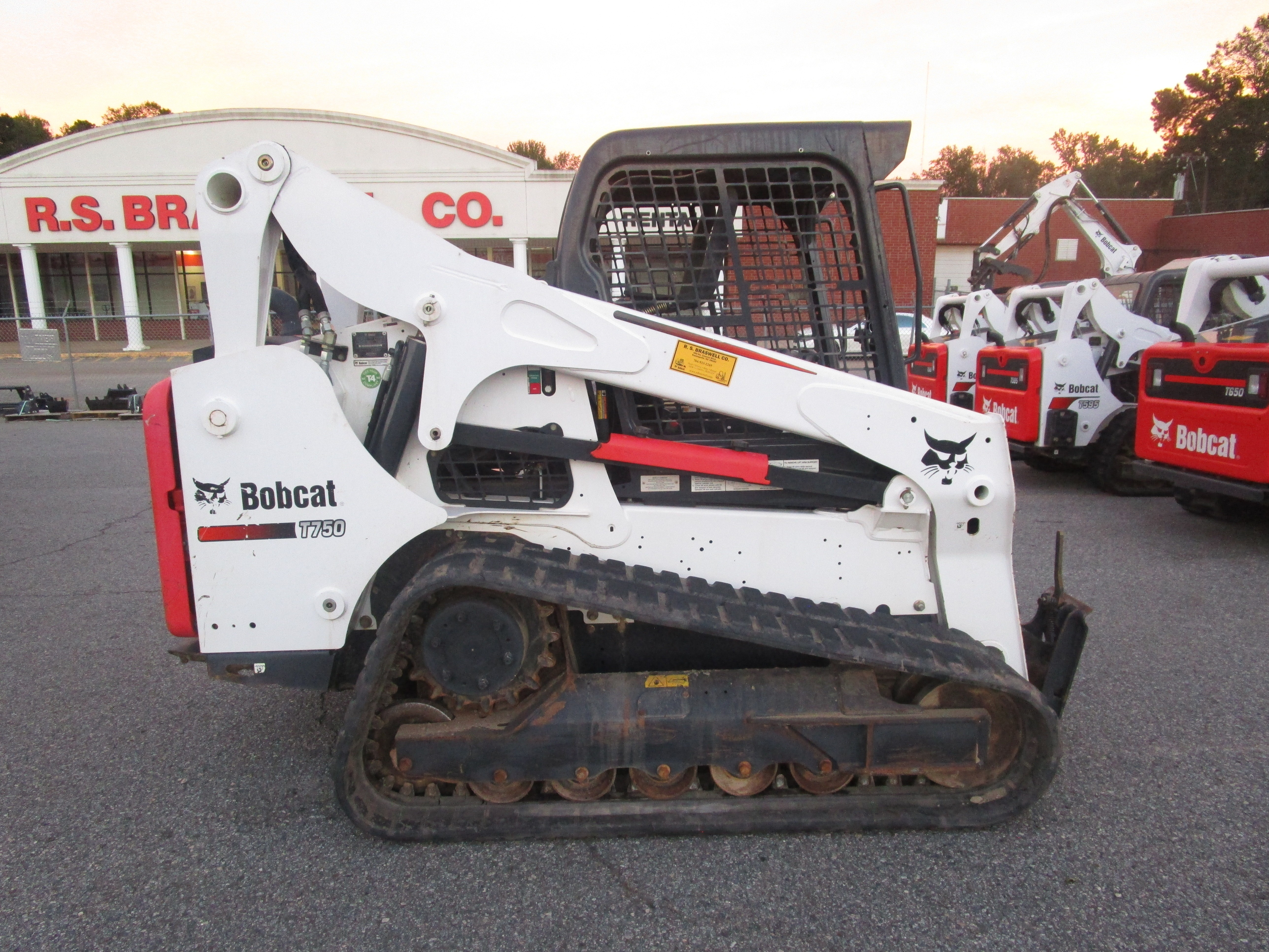 Used, 2016, Bobcat, T750, Loaders