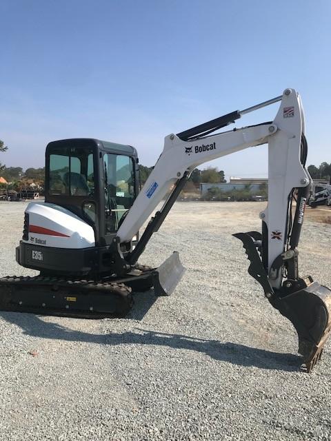 Used, 2017, Bobcat, E35i, Excavators