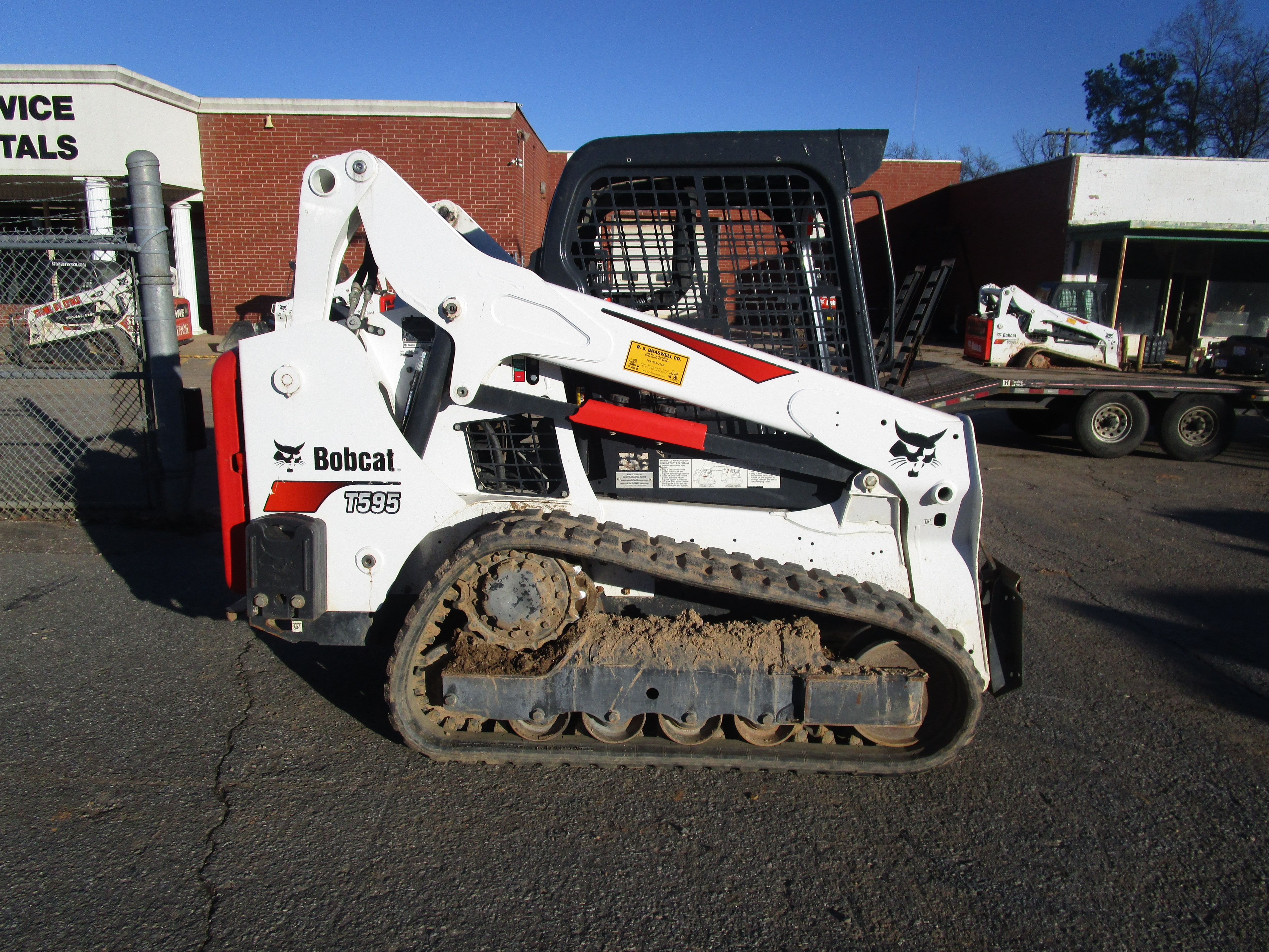 Used, 2018, Bobcat, T595, Loaders