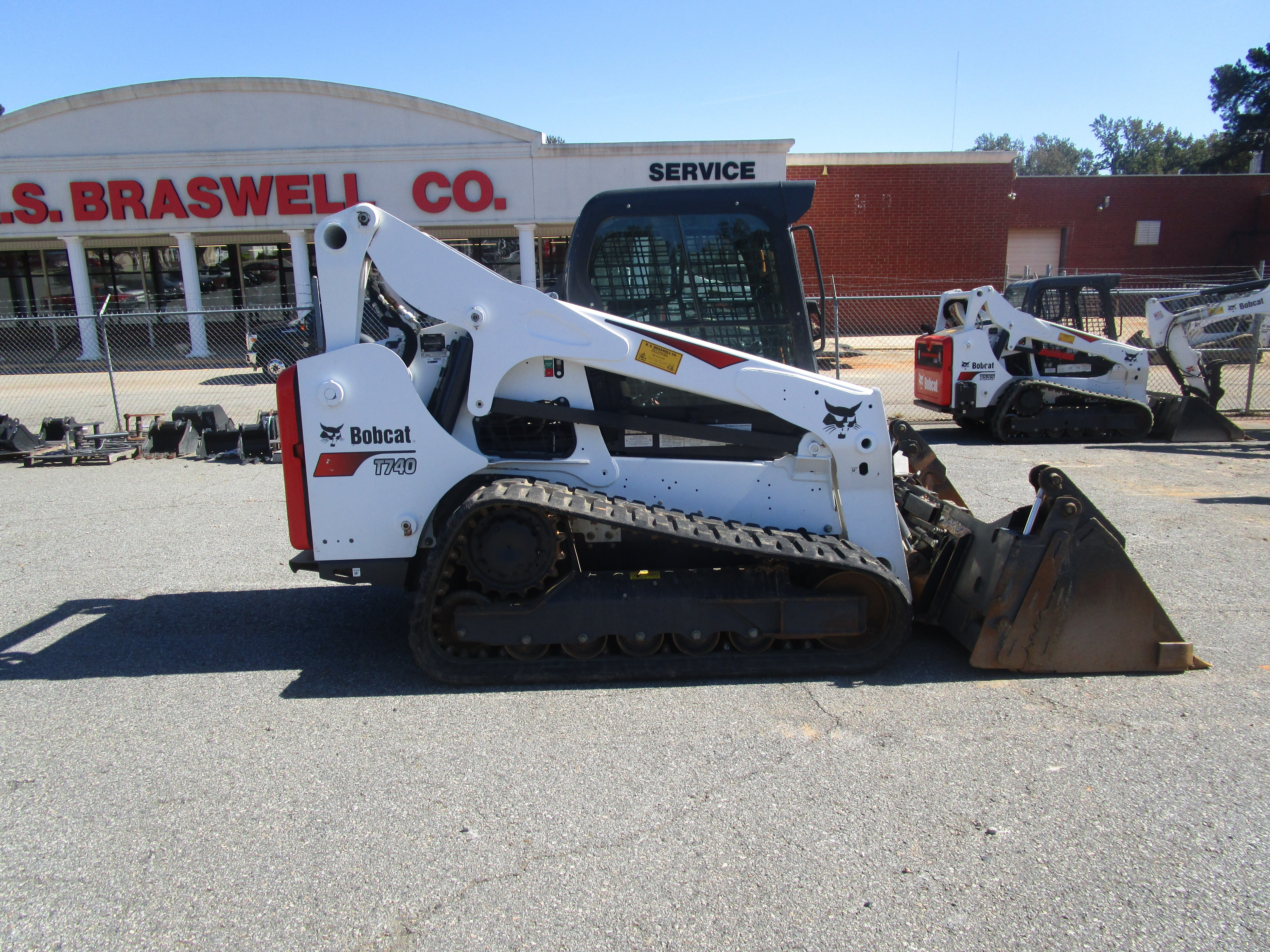 Used, 2018, Bobcat, T740, Loaders