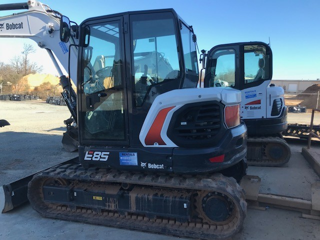 Used, 2018, Bobcat, E85, Excavators
