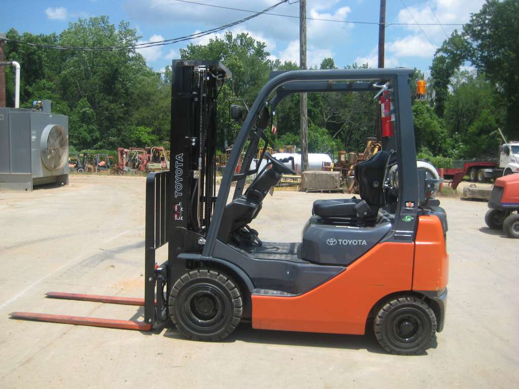 Used, 2015, Toyota, 8FGU15, Forklifts / Lift Trucks