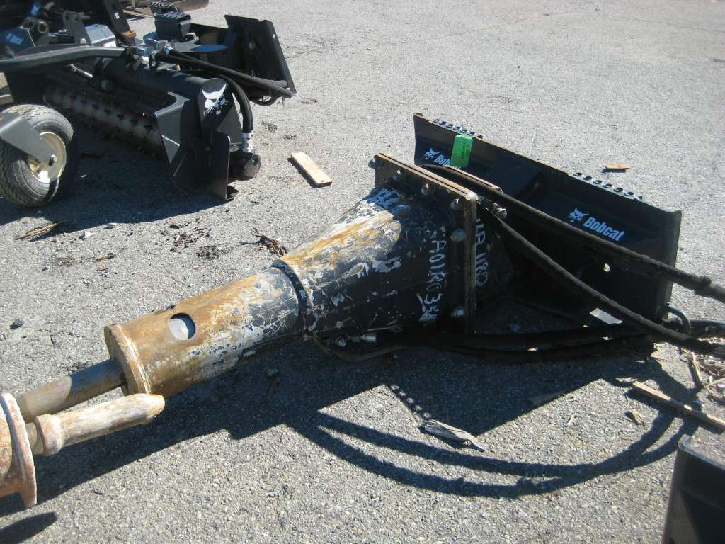 Used, 2015, Bobcat, HB1180, Hammer / Breaker Attachments