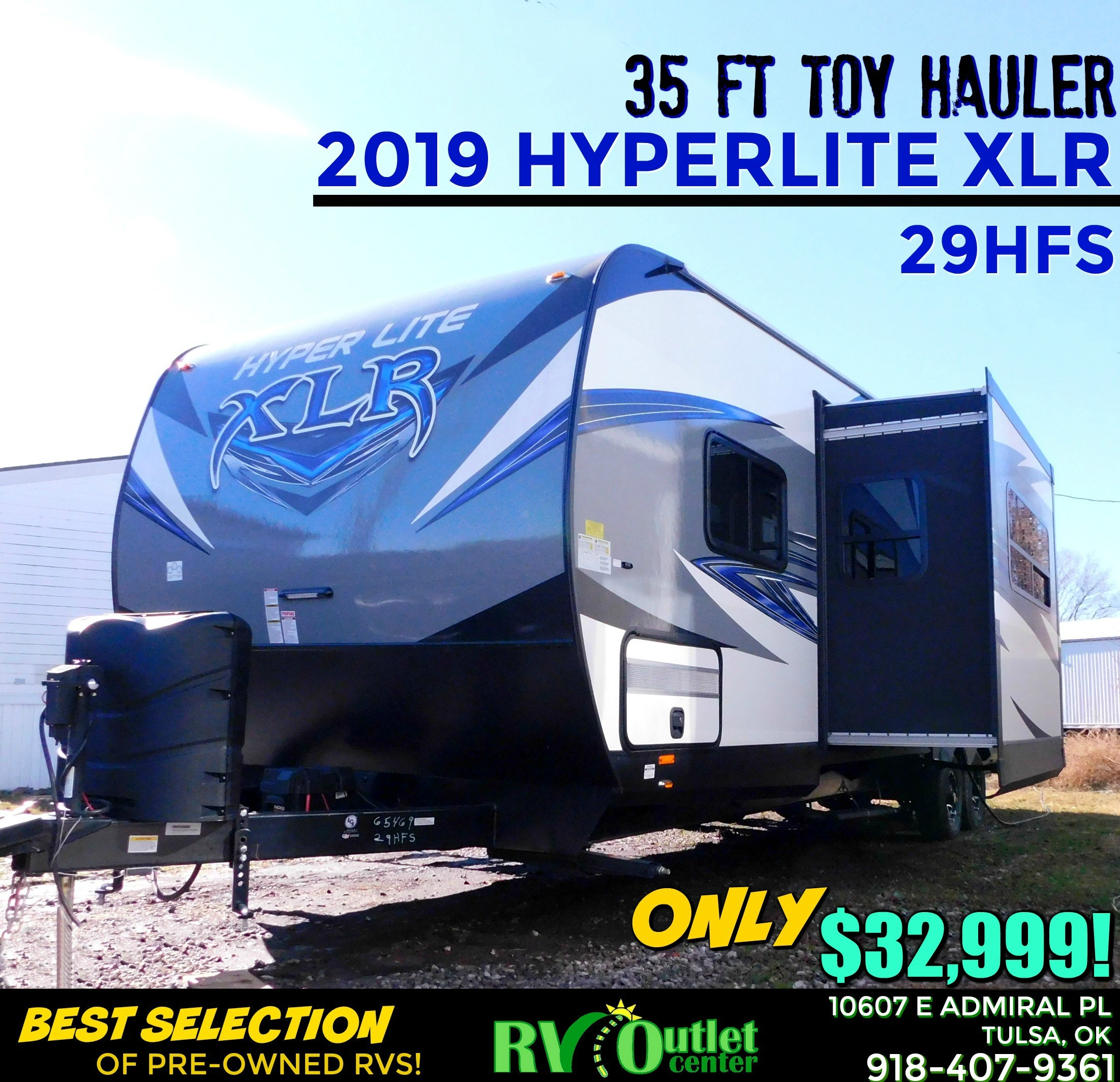 Used 2019 Hyperlite RVs XLR 29HFS in Tulsa, OK