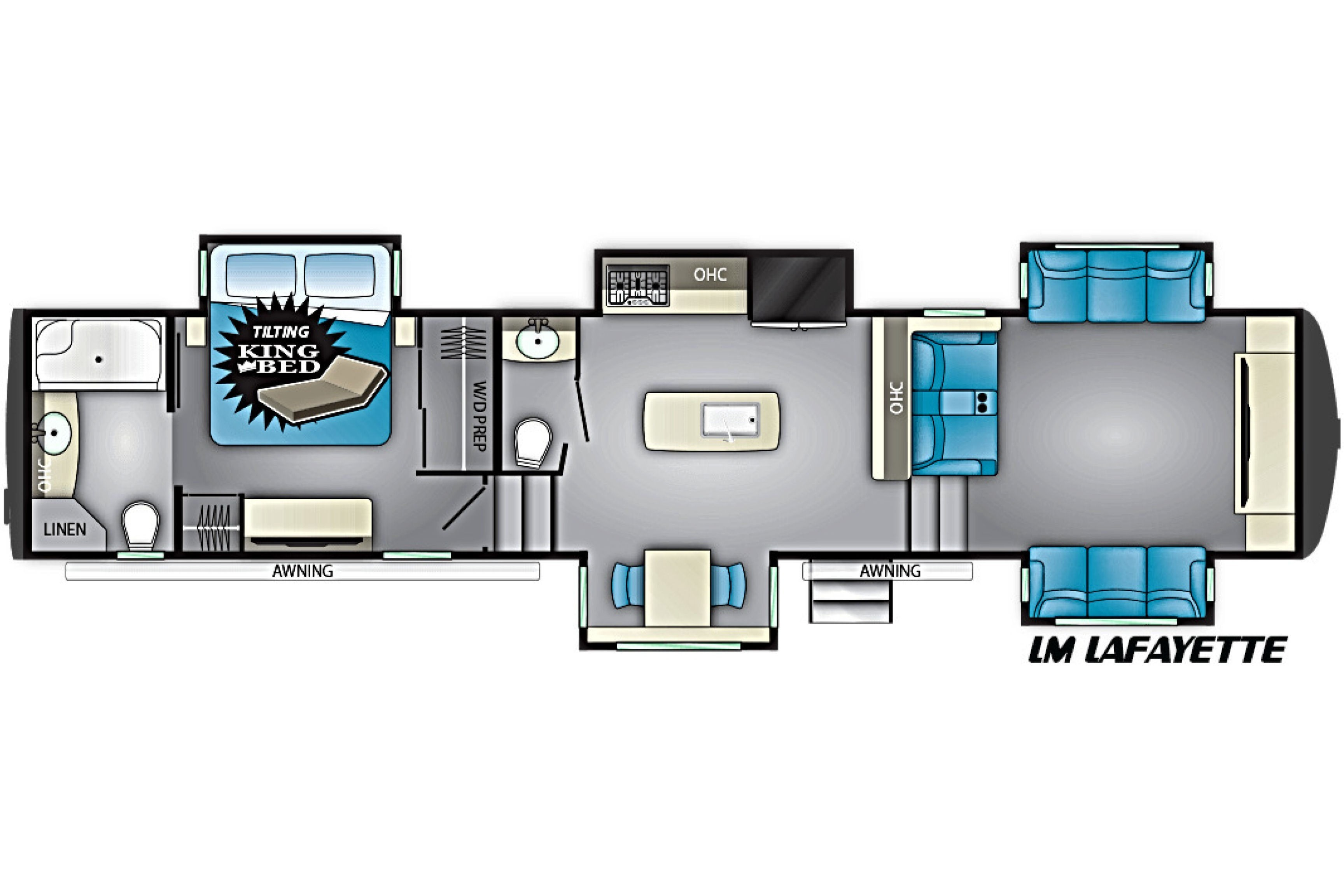 New 2019 Heartland Landmark 365 Lafayette Fifth Wheel Rv In Wiring Diagrams Click Here For Larger Image