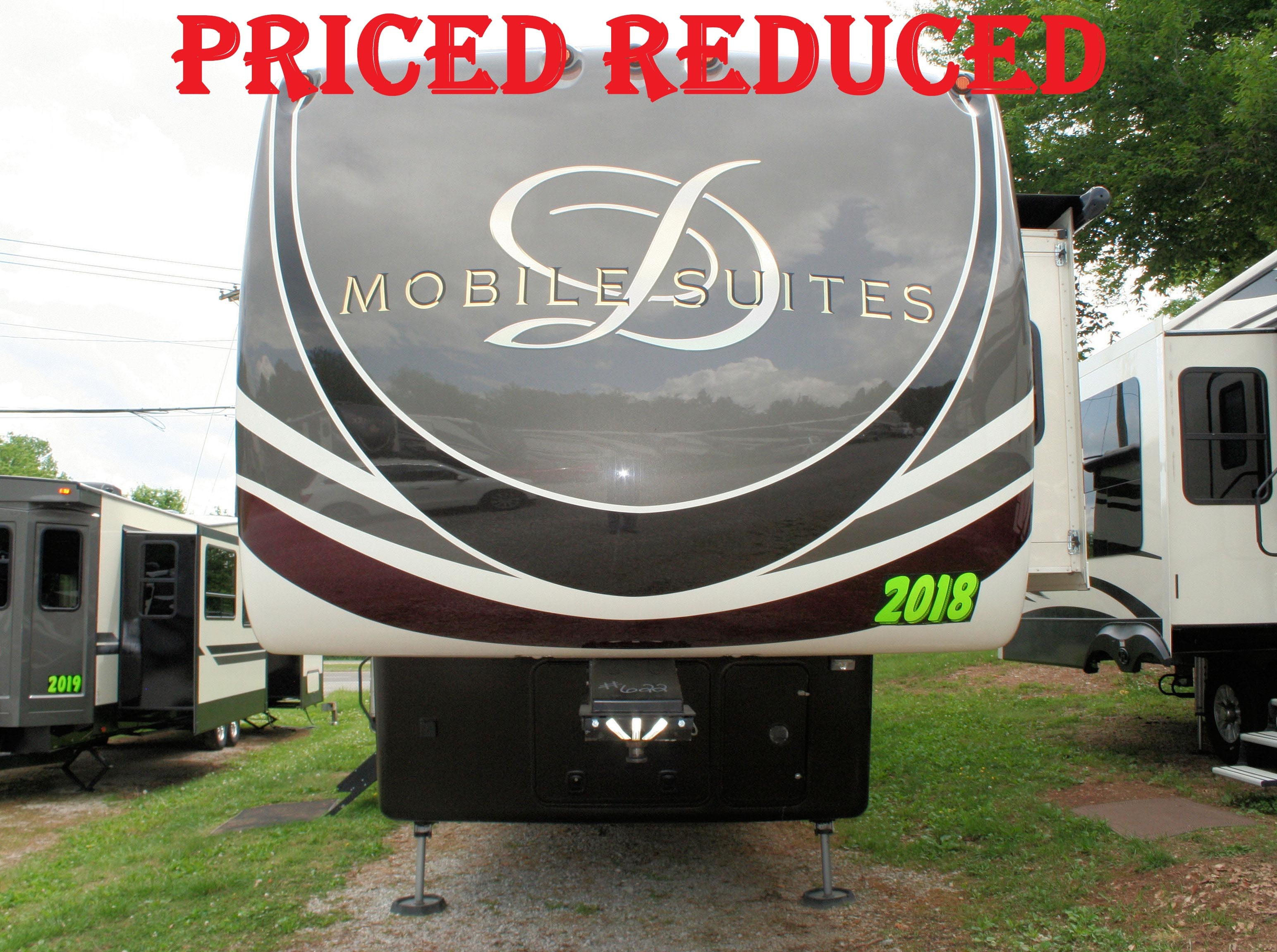 Mobile Suites Rv >> Used 2018 Drv Mobile Suites 38rsb3 Fifth Wheel Rv In