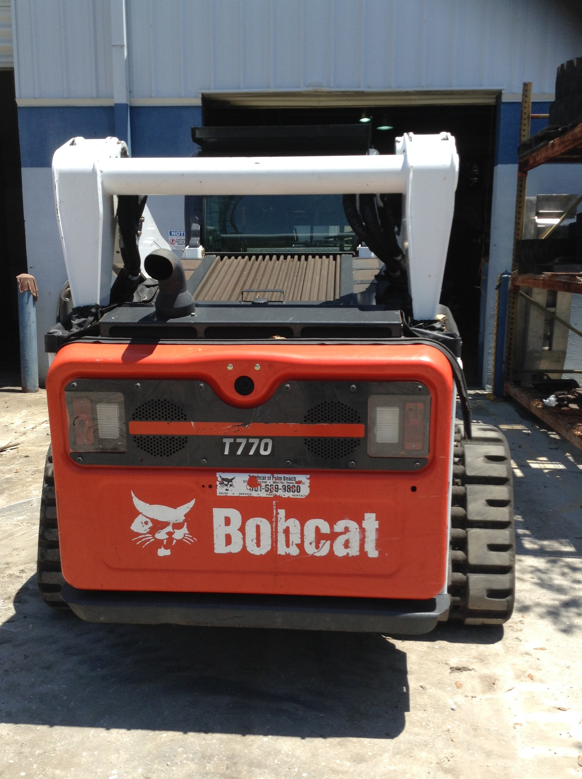 Rent this 2017 Bobcat T770 in West Palm Beach, FL
