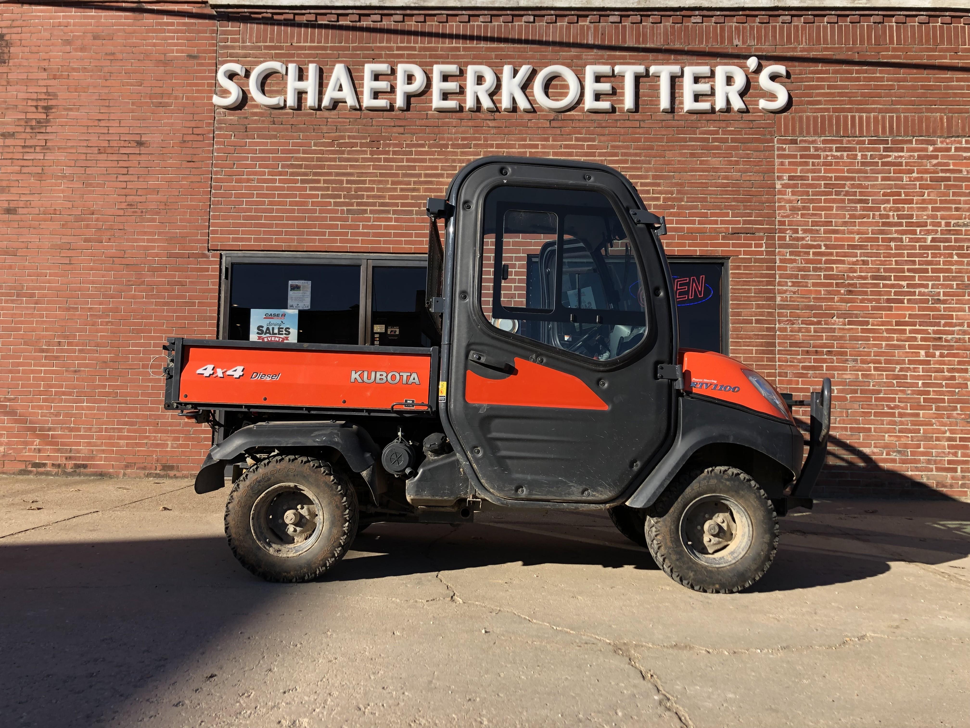 Used Utility Vehicles >> Used 2009 Kubota Rtv1100 In Mount Sterling Mo