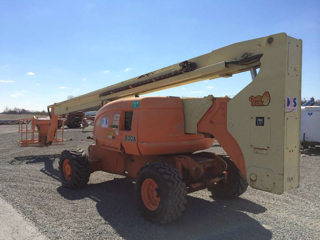 Used, 1998, JLG, 800A, Booms