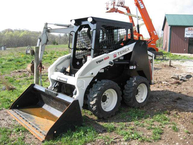 Used, 2012, Terex, TSR50, Skid Steers