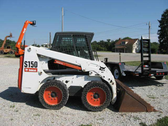 Used, 2007, Bobcat, S150, Skid Steers