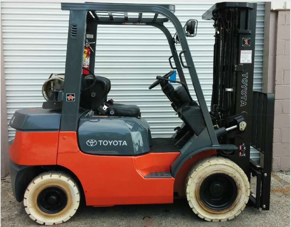 Toyota Forklift Sales Rentals In Florida Georgia
