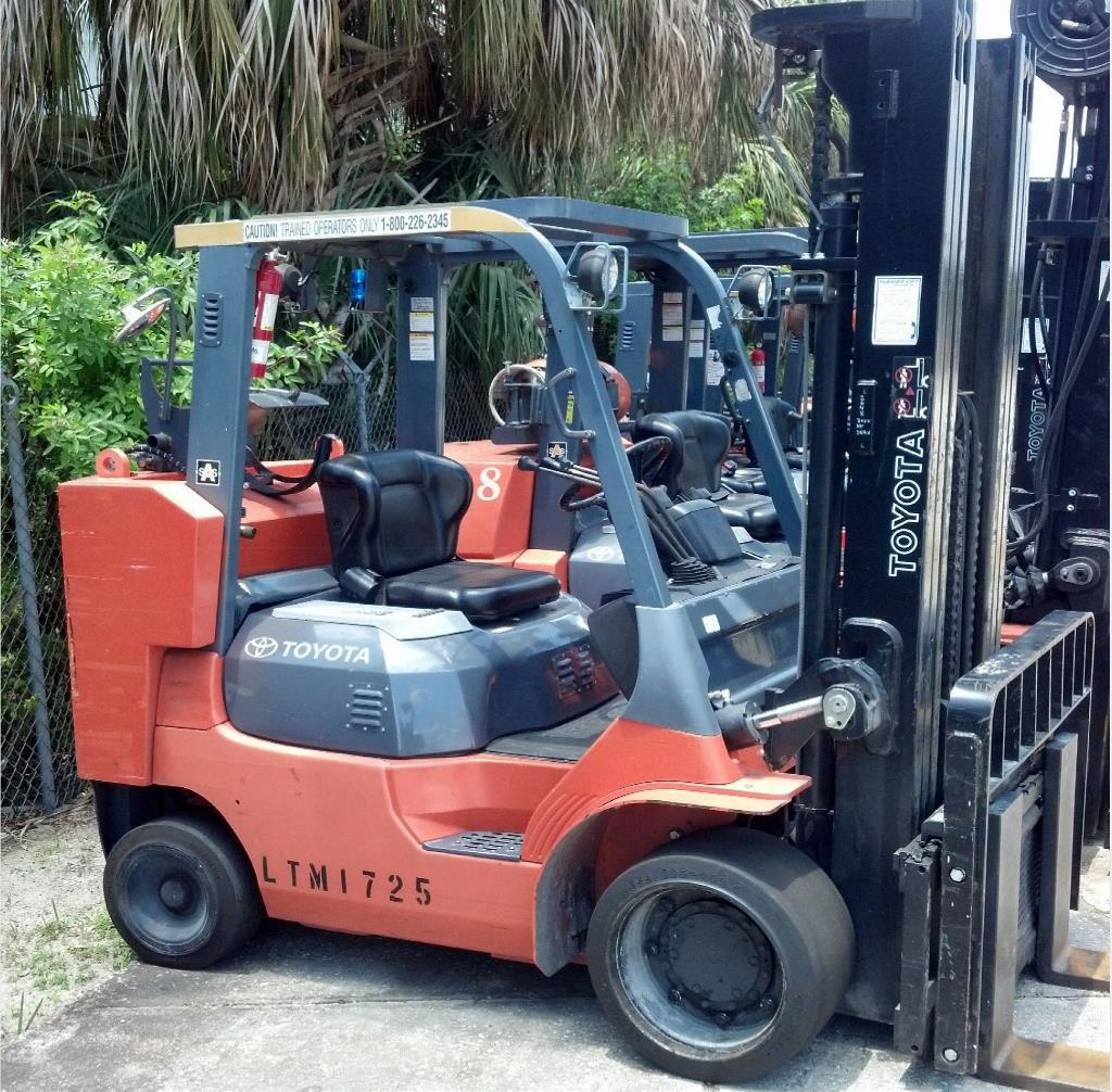 Florida georgia toyota forklift dealer lift truck sales rentals 2007 toyota industrial equipment 7fgcu45 xflitez Choice Image