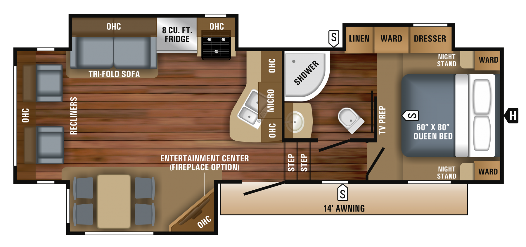 The Rv Center Jayco Fifth Wheels Wiring Diagram 2018 Eagle Ht 275rlts Wheel By Year End Blow Out Priced