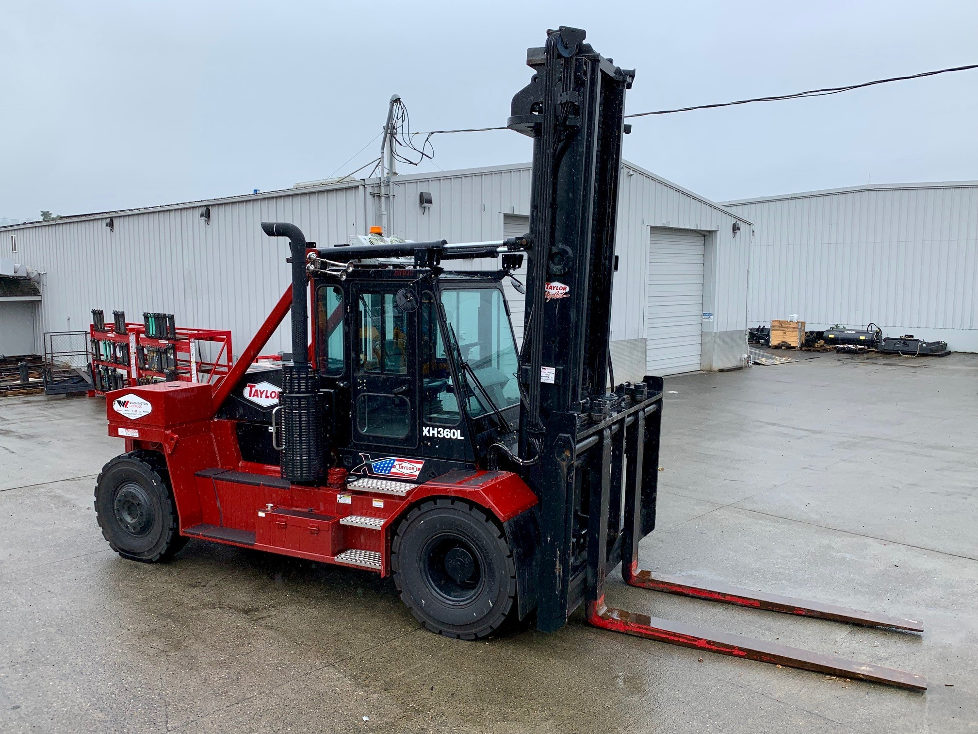 Washington Liftruck,a full line forklift and intermodal