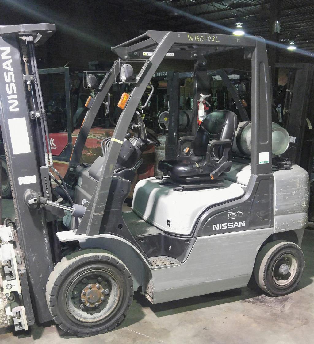 Forklift lift truck used forklift forklift rental electric 2012 nissan forklift pf50 1betcityfo Choice Image