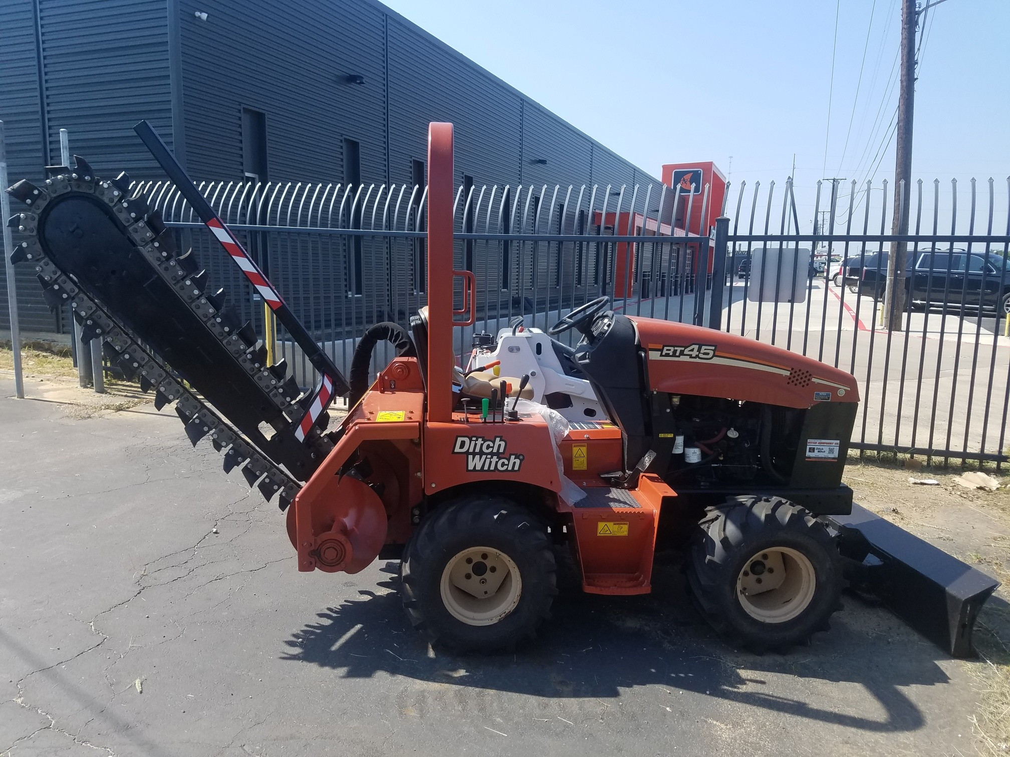 Ditch Witch Trenchers, Vibratory Plows, Skid Steers, Excavators
