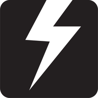 Logo square black