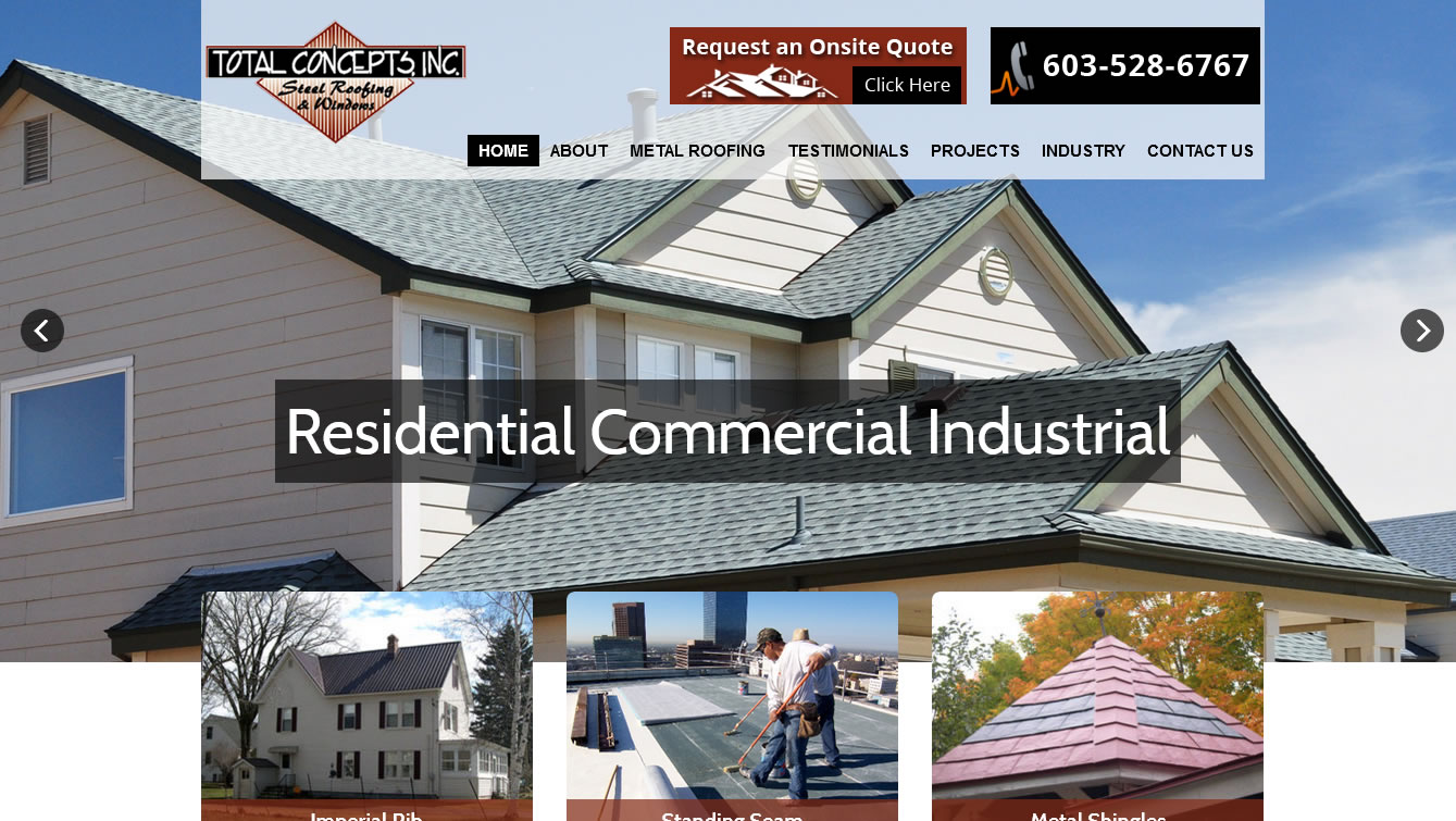 Total Concepts Metal Roofing