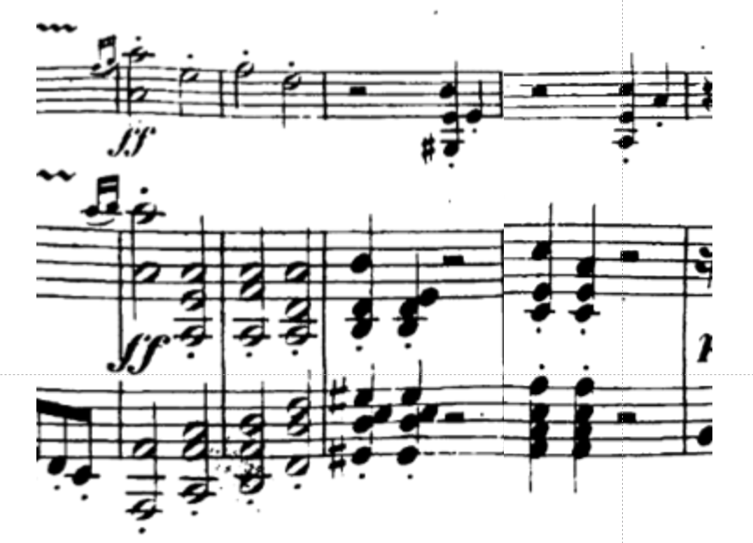 Beethoven Op. 12 No. 1, first movement