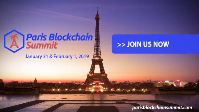Paris Blockchain Summit: First International Event Dedicated To The Blockchain Industry!