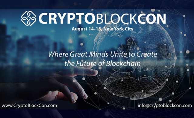 CryptoBlockCon - Las Vegas to Connect World Industry Leaders in the Cause of Promoting Blockchain Technology