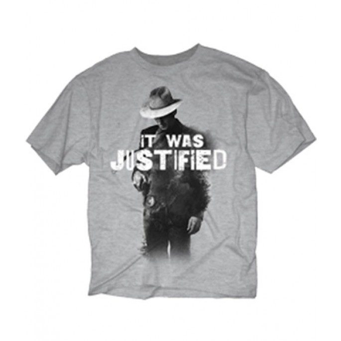 The Walking Dead It Was Justified Adult T-Shirt