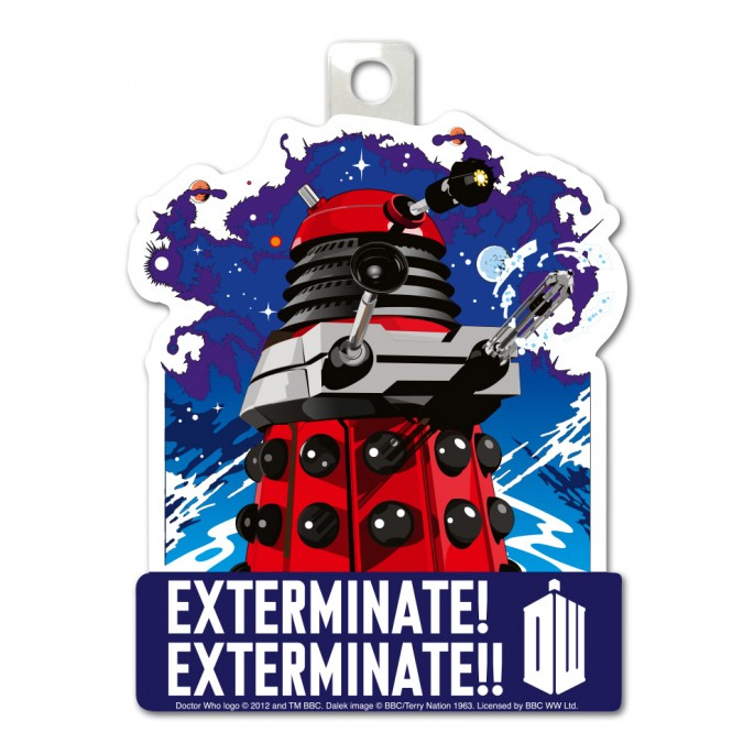 Doctor Who Exterminate Sticker