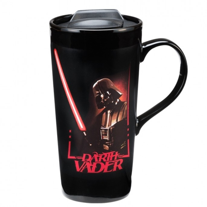 Star Wars Darth Vader 20 oz. Heat Reactive Ceramic Travel Mug