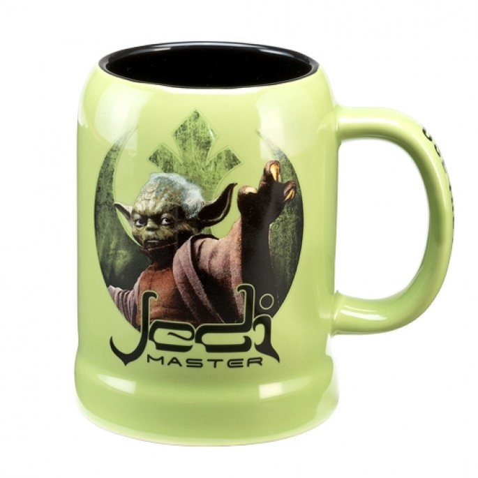 Star Wars Yoda 20 oz. Ceramic Stein