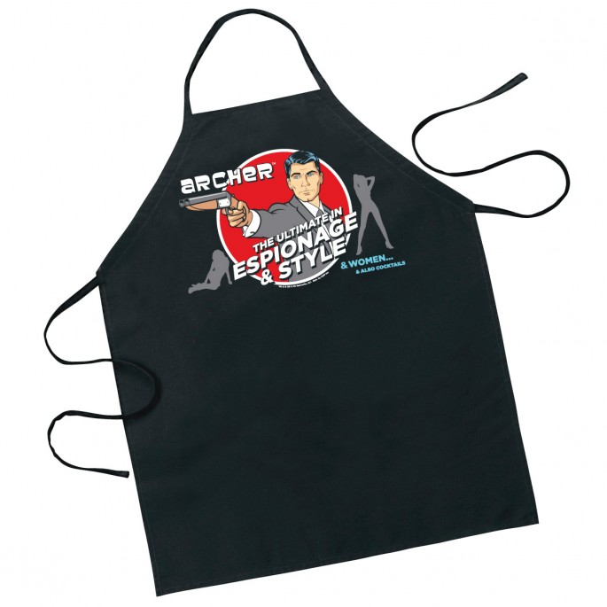 Archer The Ultimate in Espionage and Style Apron