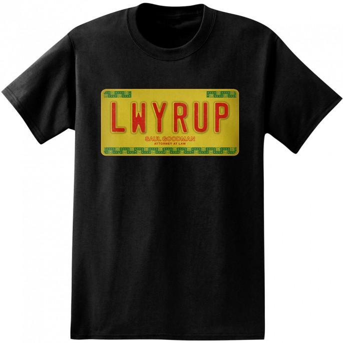 Better Call Saul LWYRUP Black Adult T-Shirt