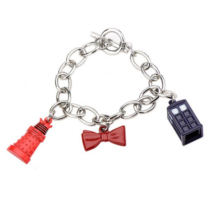 Doctor Who Icons Charm Bracelet