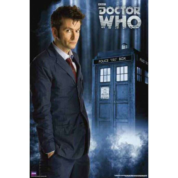 Doctor Who Tenth Doctor (David Tennant) Poster