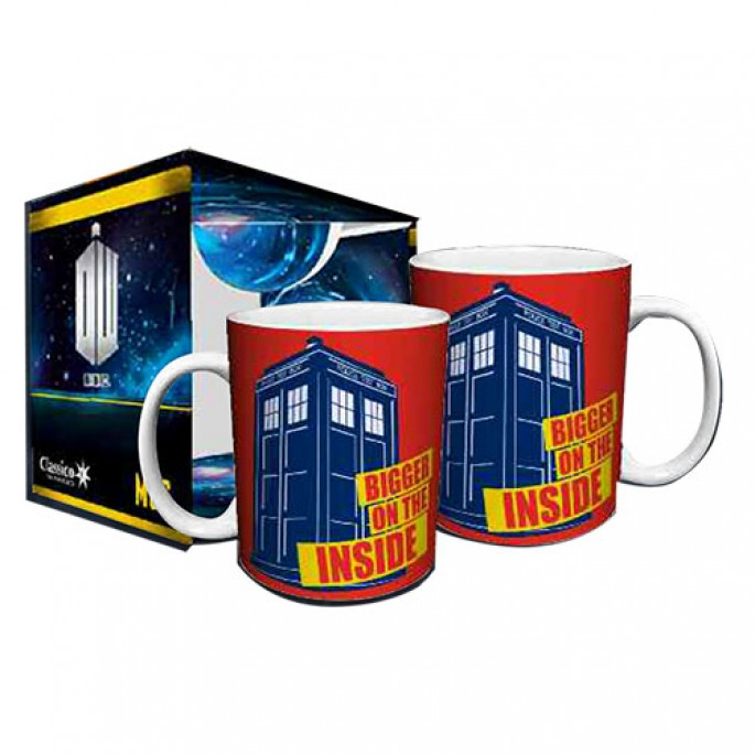 Doctor Who Bigger on the Inside Boxed Gift Mug