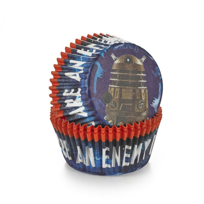 Doctor Who Cupcake Cases Imported From The UK