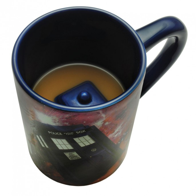 Doctor Who Large Hidden Tardis Mug