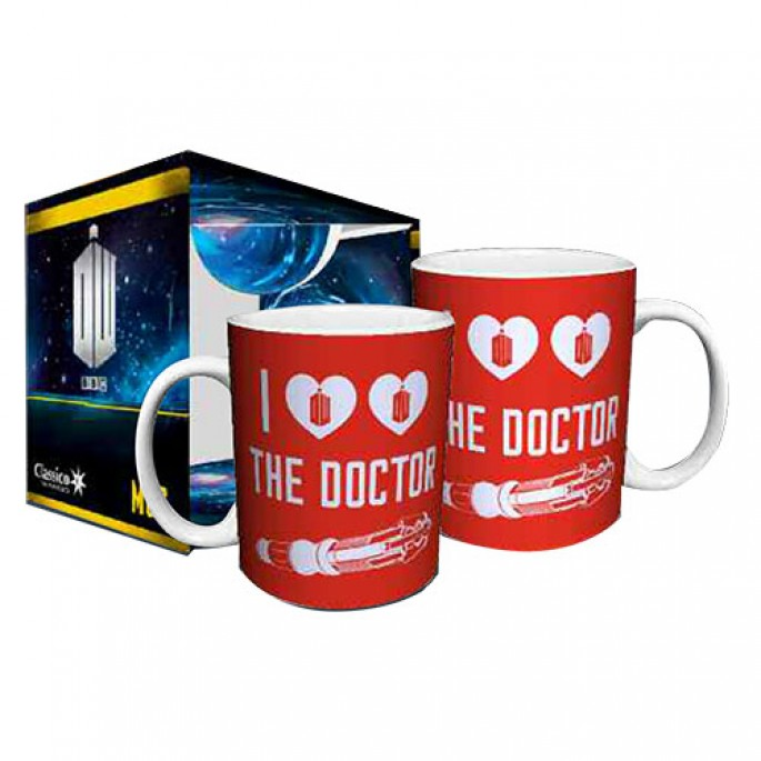 Doctor Who I Heart Heart the Doctor Boxed Gift Mug