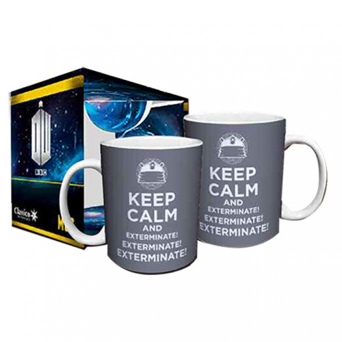 Doctor Who Keep Calm and Exterminate Boxed Gift Mug