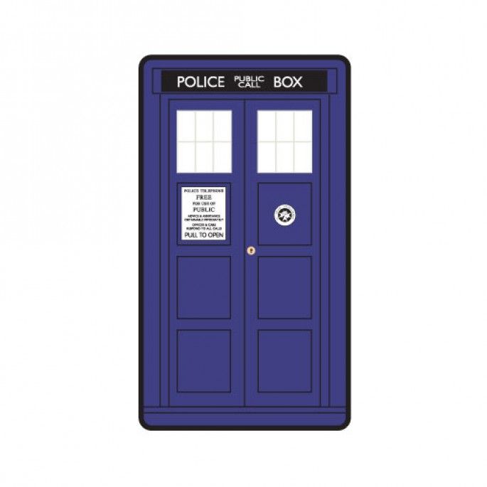 Doctor Who Large Tardis Door Throw