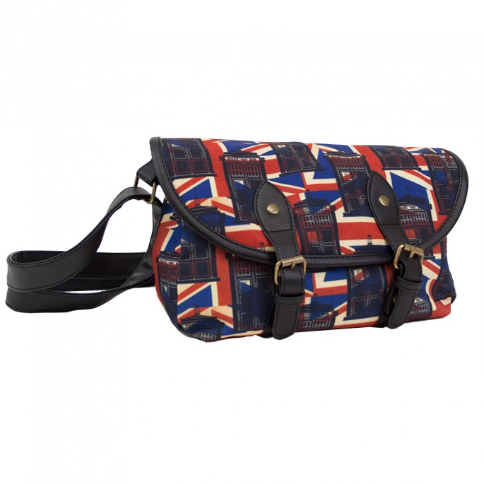 Doctor Who Limited Availability Tardis Union Jack Cross Body Bag